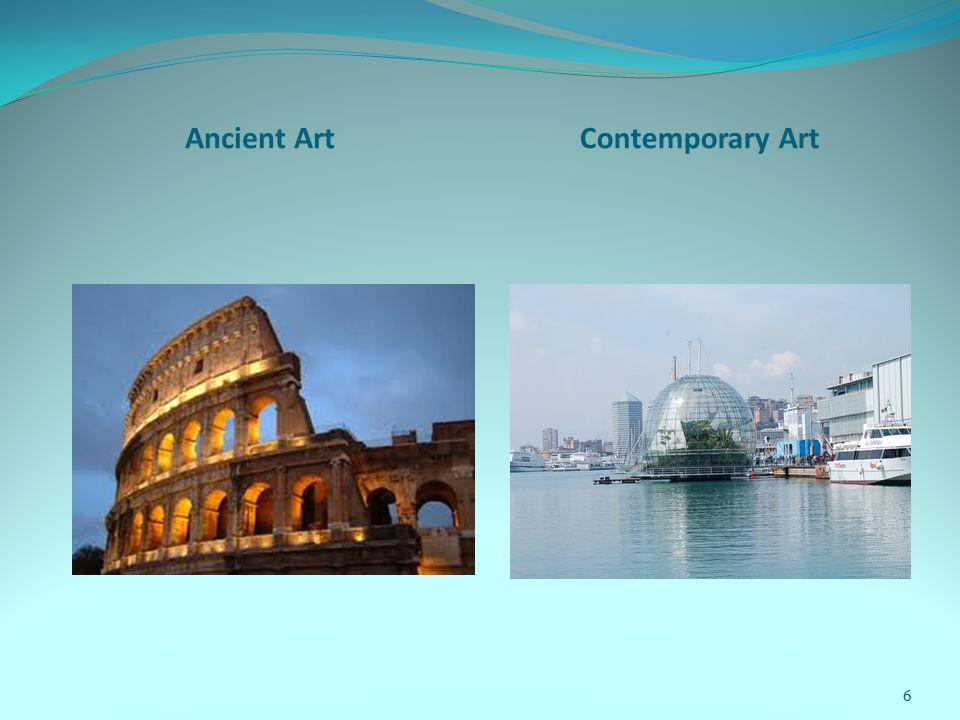 Ancient ArtContemporary Art 6