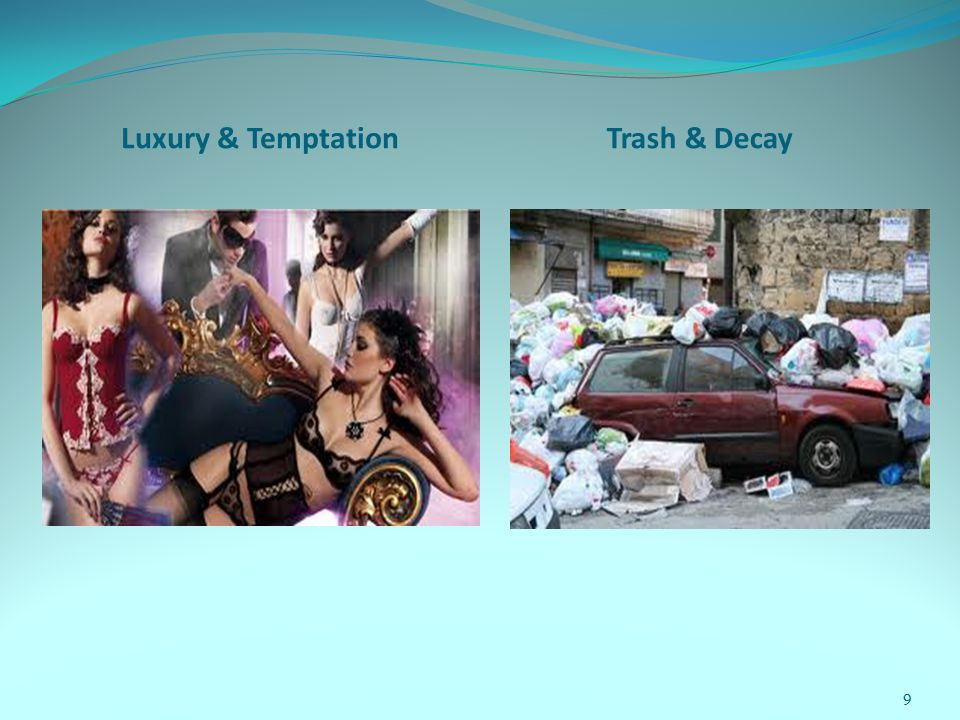Luxury & TemptationTrash & Decay 9