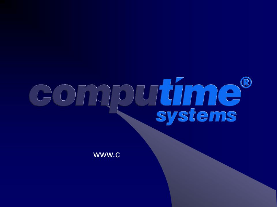 Protime - Overview  Protime is a complete hardware and software solution that fits easily into your business structure.