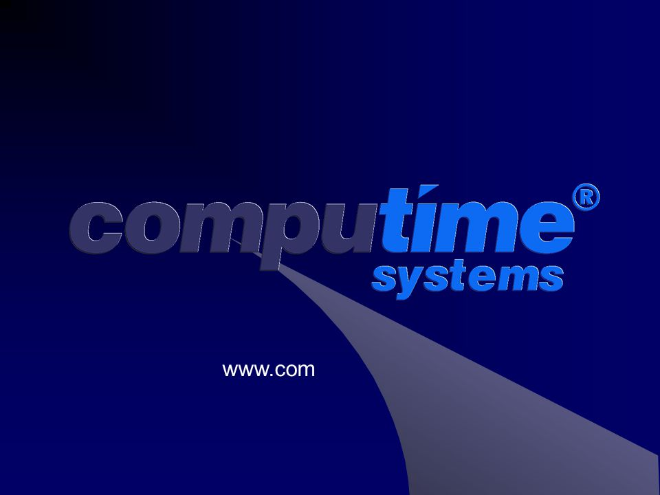 Protime – Software Features  Exceptionally user friendly and pleasing to the eye.