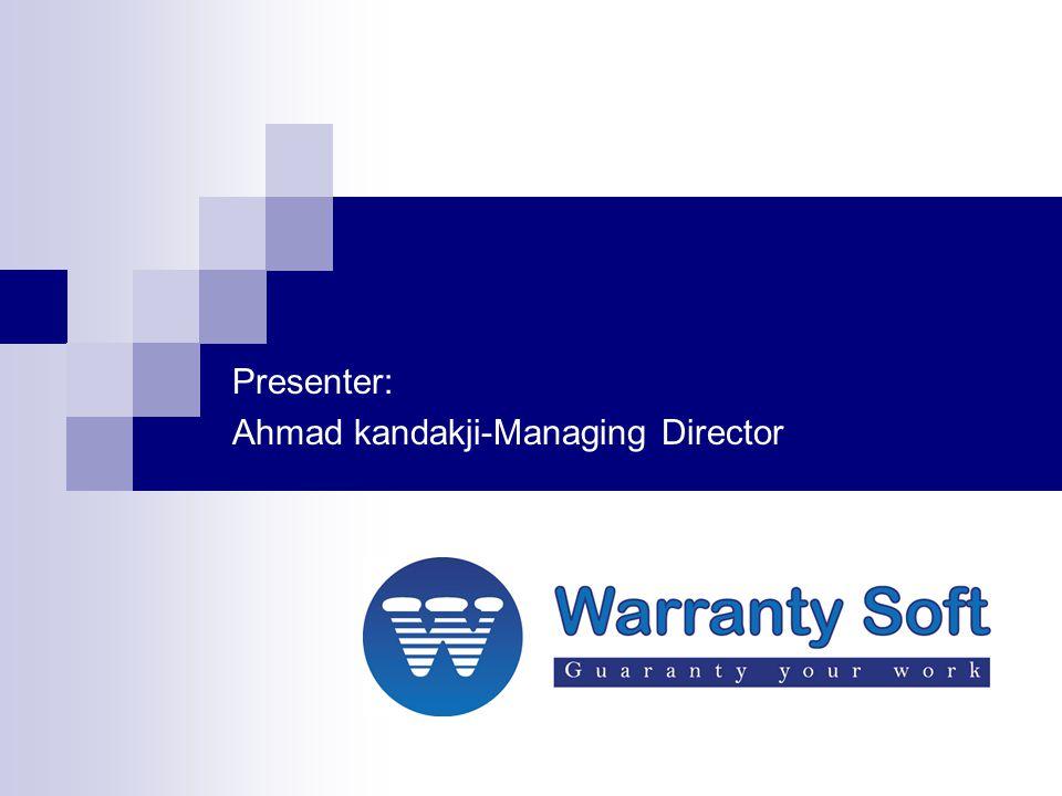 Data exchange & Integration –Level 2 Manufacturer Warranty Soft Dealer Branch