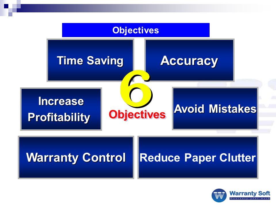 To be able to identify out-of-line warranty expense and take steps to correct it.