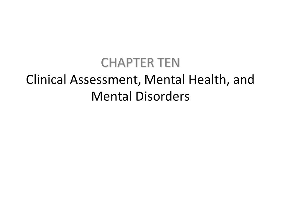 Defining Mental Health – Characteristics of mentally healthy people: Positive attitude toward self Accurate perception of reality Mastery of the environment Autonomy Personal balance Growth and self-actualization When characteristics of mentally healthy people are absent, mental disorder becomes more likely