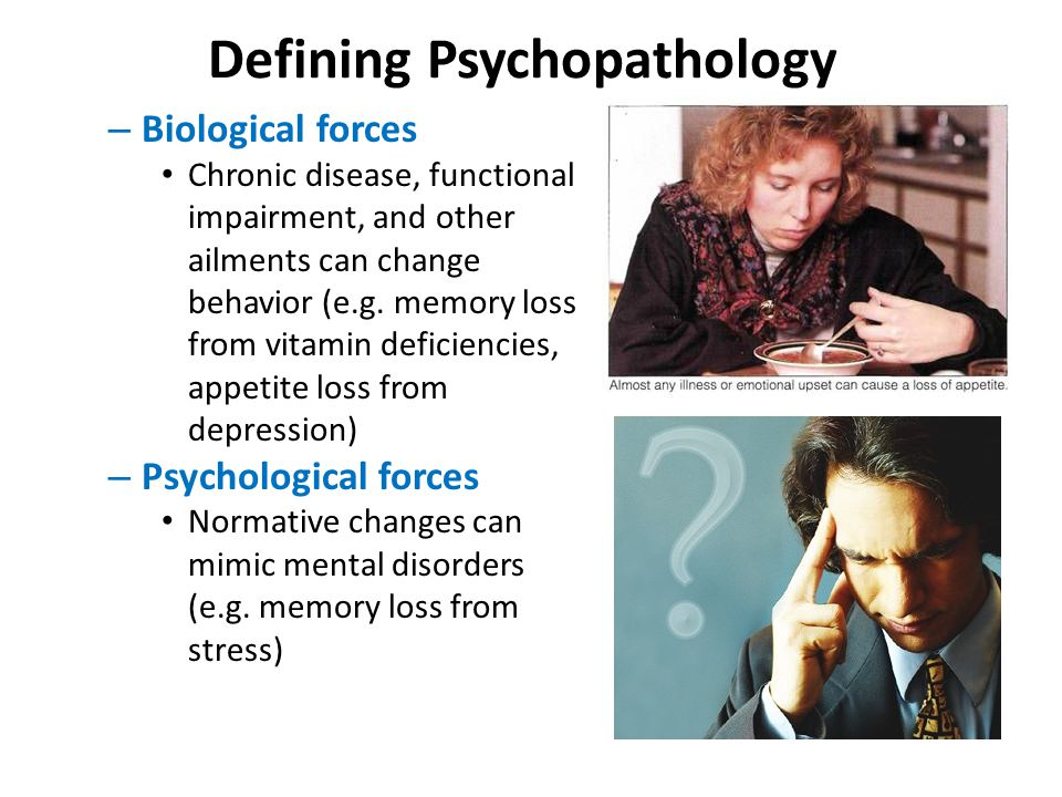 Defining Psychopathology – Sociocultural forces Being paranoid may be adaptive in certain circumstances.