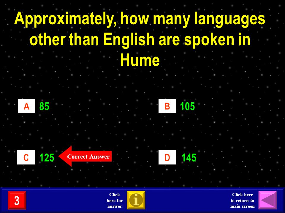 Roughly, what is the current population of Hume.