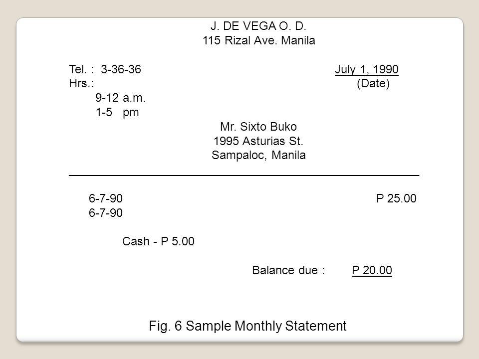 J. DE VEGA O. D. 115 Rizal Ave. Manila Tel. : 3-36-36 July 1, 1990 Hrs.: (Date) 9-12 a.m.