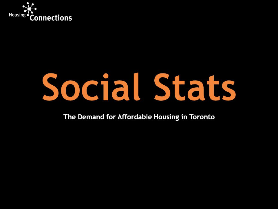 41 per cent of single person households in Toronto live on an annual income of less than $20,800 23