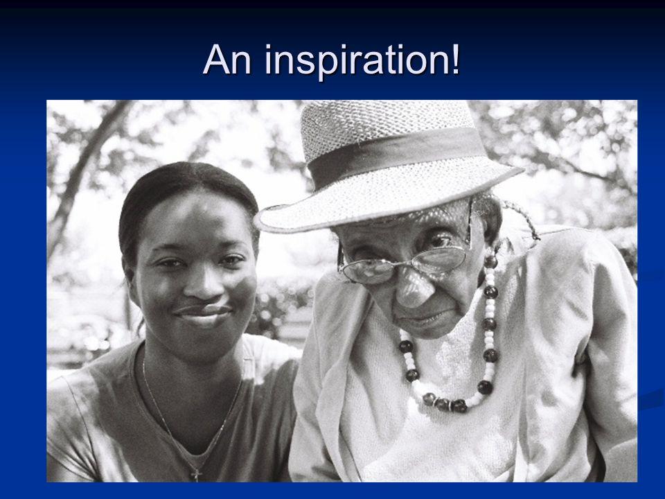 An inspiration!