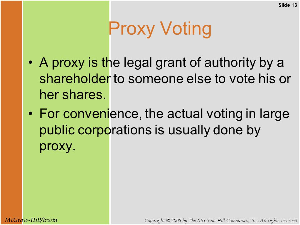 Slide 13 Copyright © 2008 by The McGraw-Hill Companies, Inc.