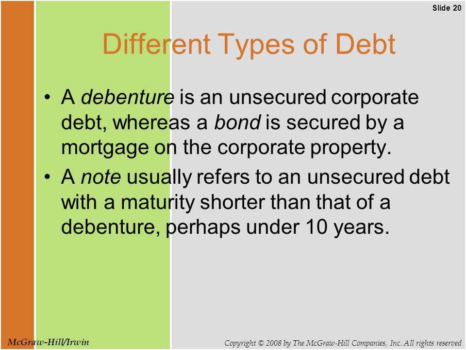 Slide 20 Copyright © 2008 by The McGraw-Hill Companies, Inc.