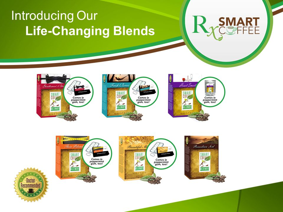 Introducing Our Life-Changing Blends
