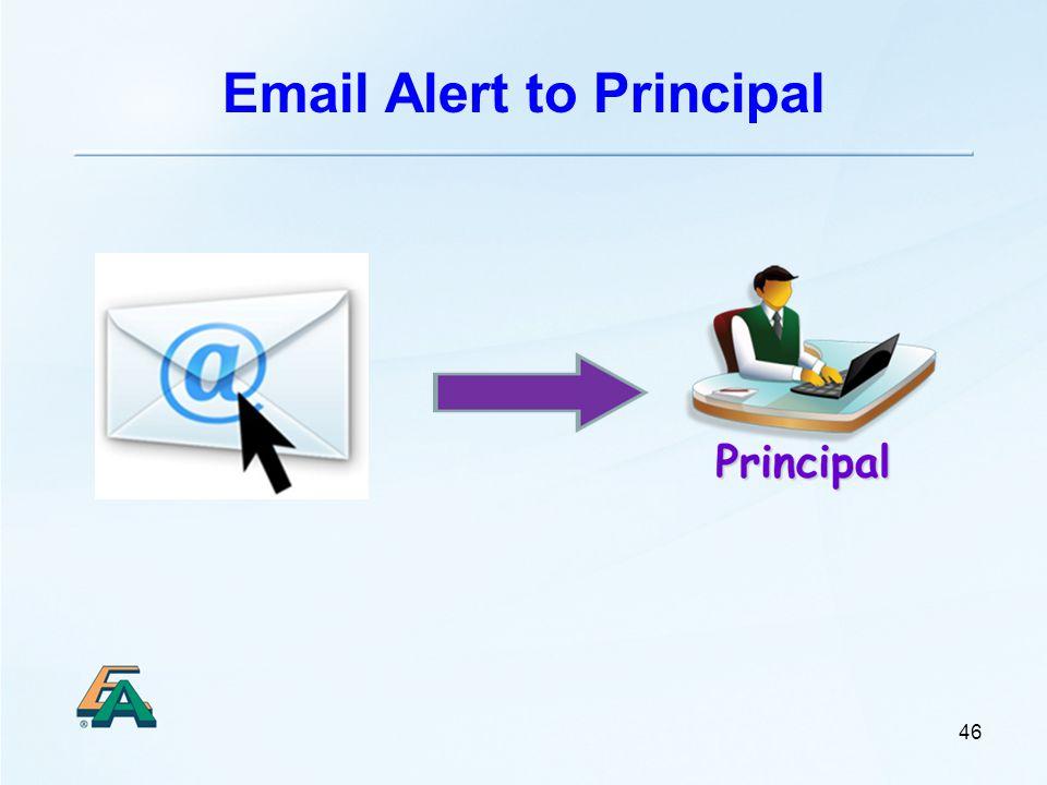 Email Alert to Principal 46