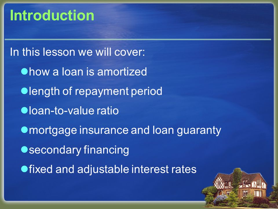 Example: W borrows $190,000 to buy home.Loan is a one- year ARM with 7.5% annual payment cap.