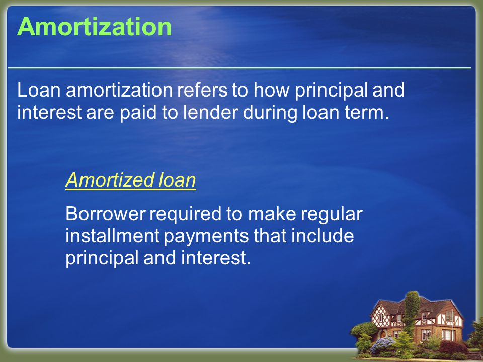 Fixed or Adjustable Interest Rate Fixed-rate mortgage Interest rate charged on loan remains constant through loan term.