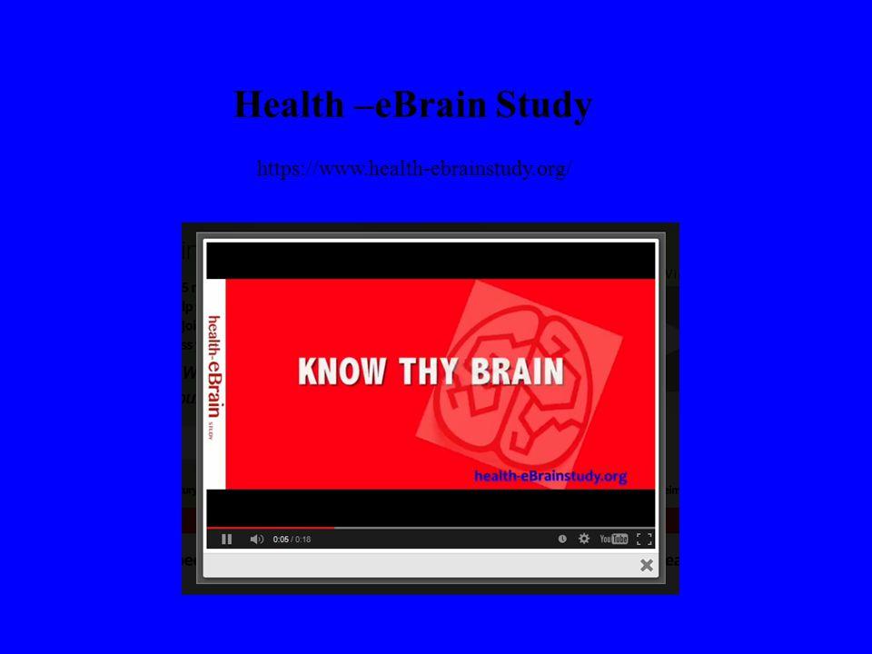 Health –eBrain Study https://www.health-ebrainstudy.org/