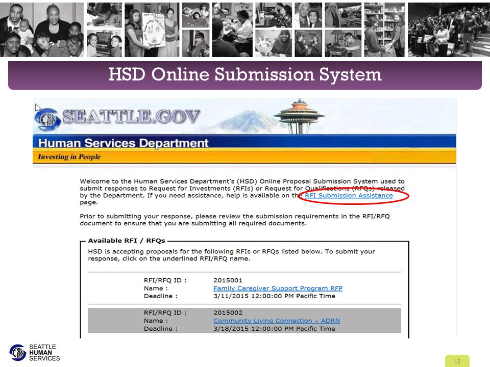 HSD Online Submission System 13