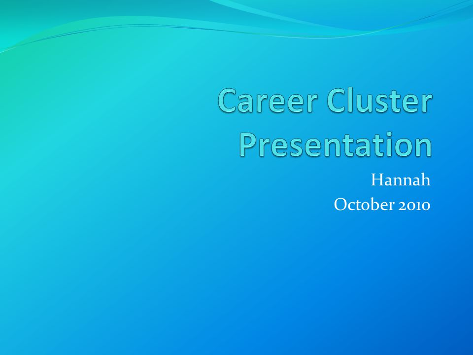 Human Services The most unusual career in this cluster is Sociologist One career in this cluster that would interest me is Wedding Planner Three facts about this career include: $20,000 to $60,000 a year or more No formal requirements Creative