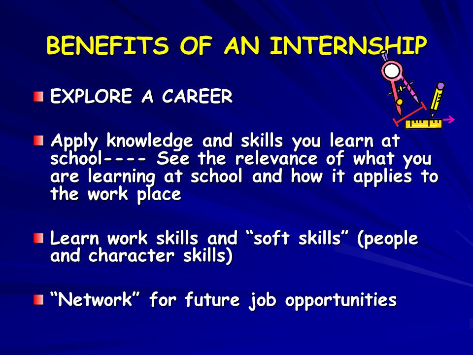 BASIC GUIDELINES FOR YOUR INTERNSHIP EXPERIENCE