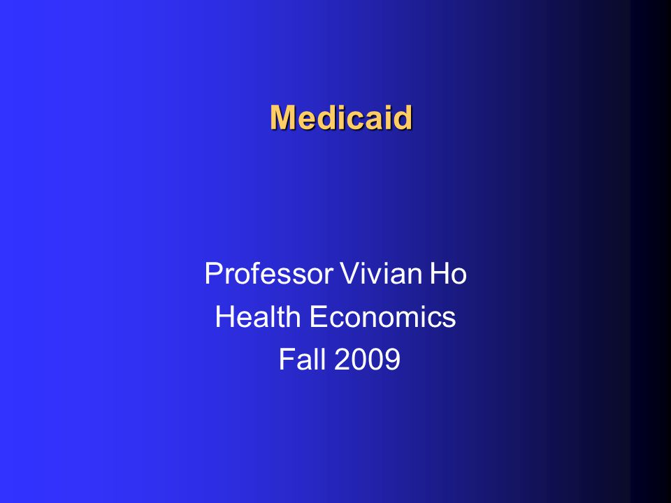 Impact of Medicaid managed care l In early 2000's, HMO profits disappeared uMirrors problems w/ health care costs in private sector and Medicare l Still have 2-fold variation in capitation rates across states l Difficult to monitor quality uTennCare had significant differences in LBW babies and death in 1st 60 days across its Medicaid managed care programs