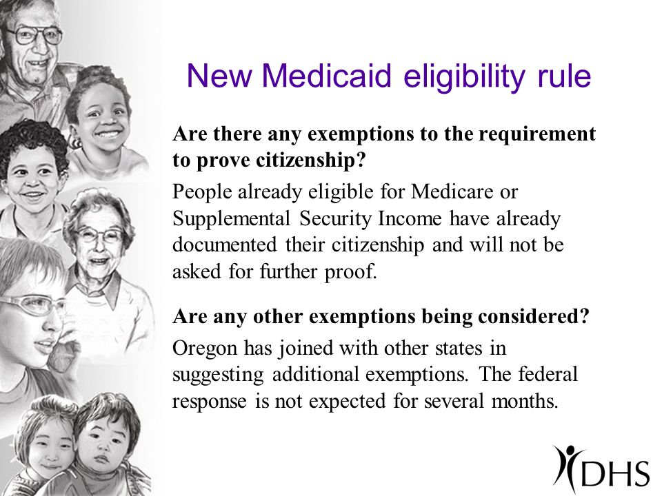 New Medicaid eligibility rule Where can people get more information.