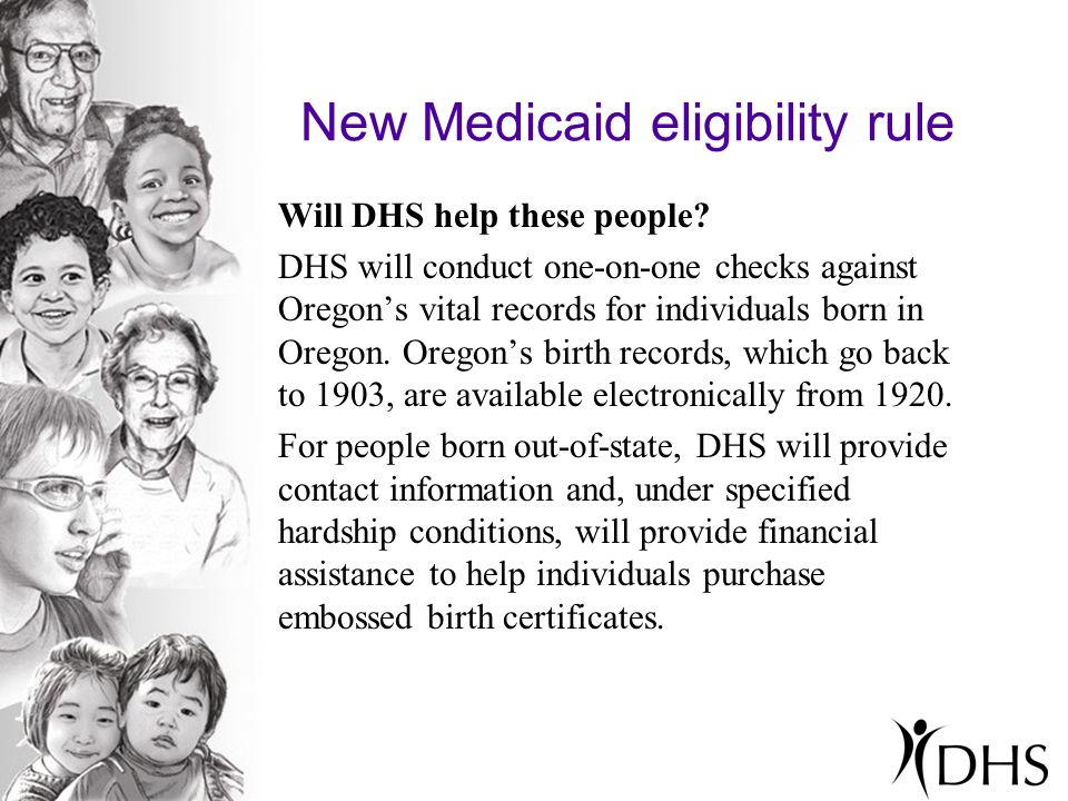 New Medicaid eligibility rule Do people have any kind of grace period for proving their citizenship.