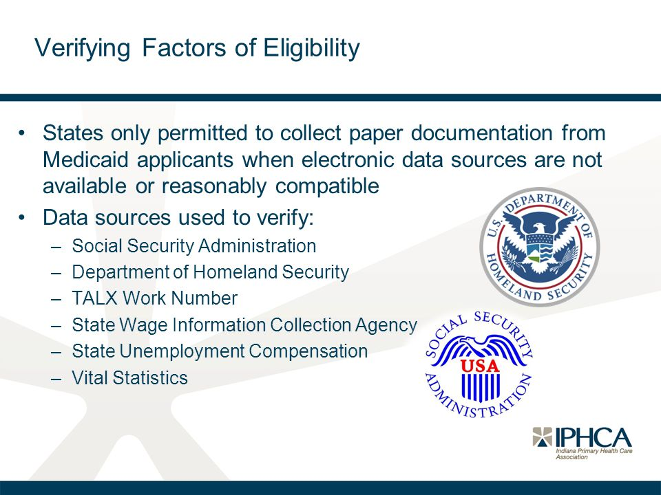 States only permitted to collect paper documentation from Medicaid applicants when electronic data sources are not available or reasonably compatible