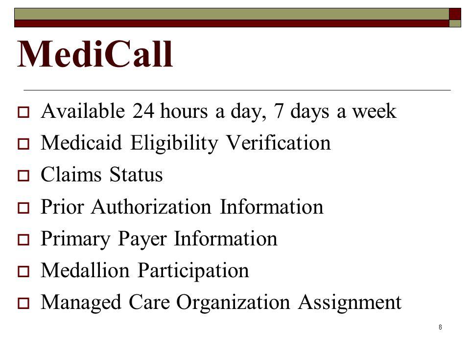 7 MediCall 800-884-9730 800-772-9996 804-965-9732 804-965-9733