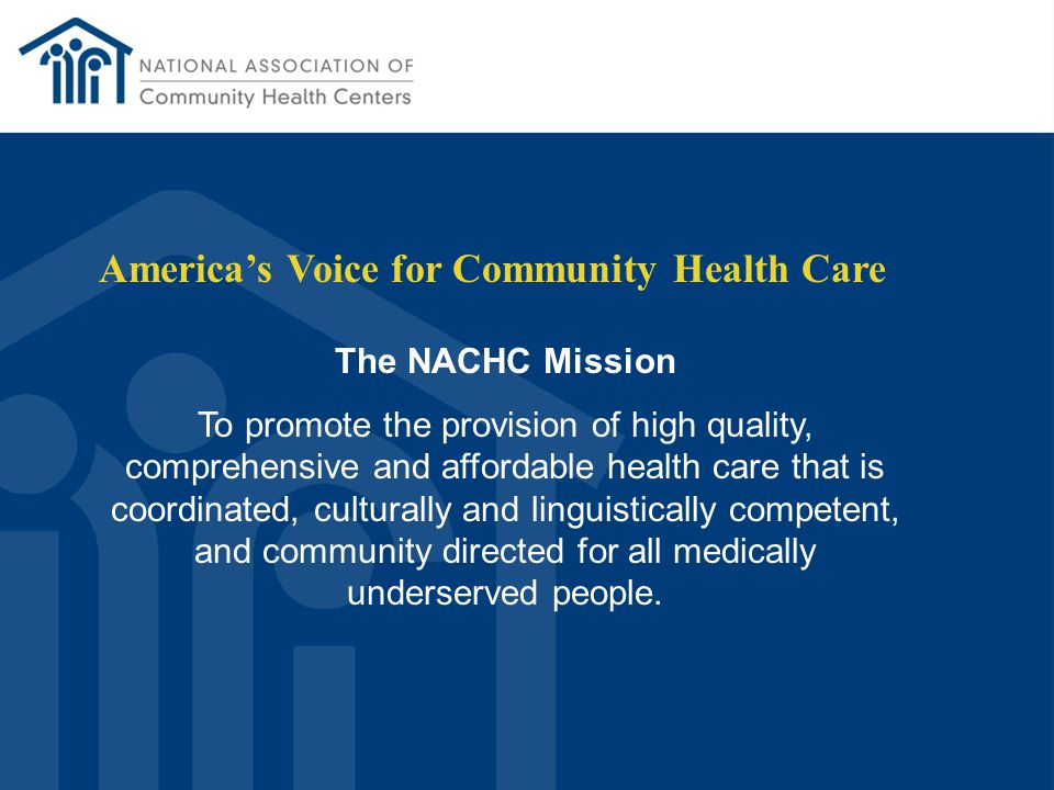 Medicaid FQHC Prospective Payment System Roger Schwartz National Association of Community Health Centers
