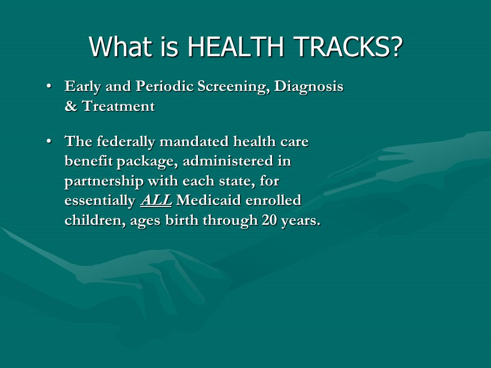 What is HEALTH TRACKS.