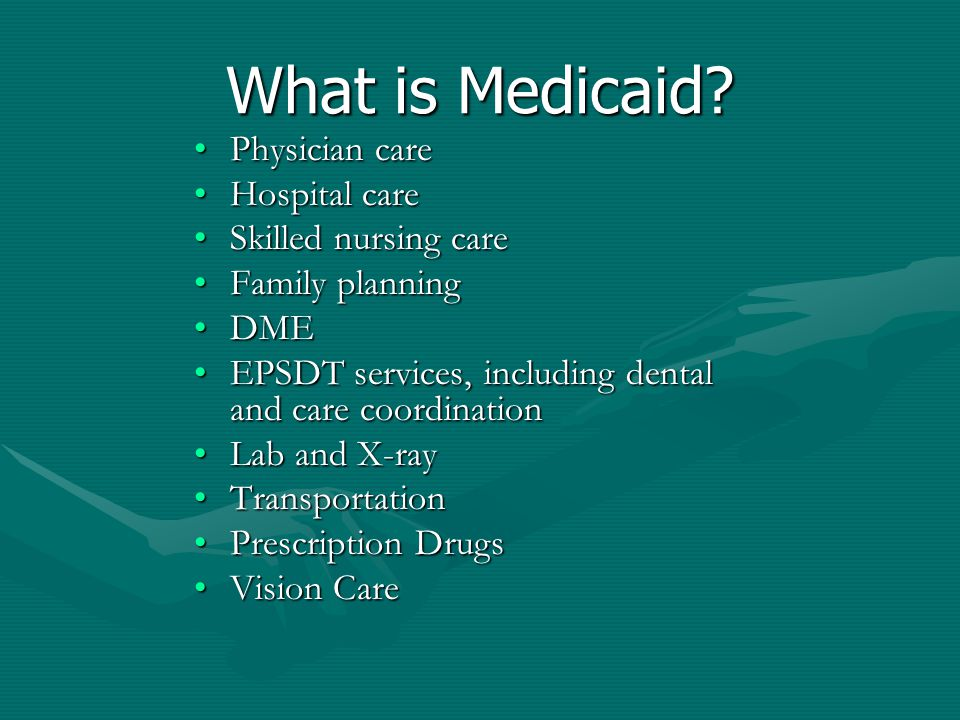 HOW IS MEDICAID DIFFERENT FROM MEDICARE.