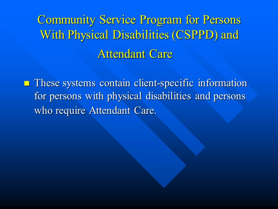 Licensed Facilities This system contains information on licensed personal care homes, day care, mental health, mental retardation and child welfare fa