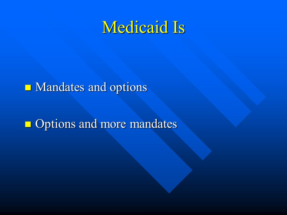 Who Receives Medicaid in Pennsylvania More than 50 percent are children More than 50 percent are children 25 percent are Temporary Assistance for Needy Families 25 percent are Temporary Assistance for Needy Families 20 percent are Social Security Income 20 percent are Social Security Income