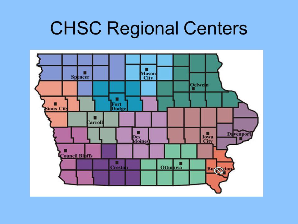 CHSC Regional Centers