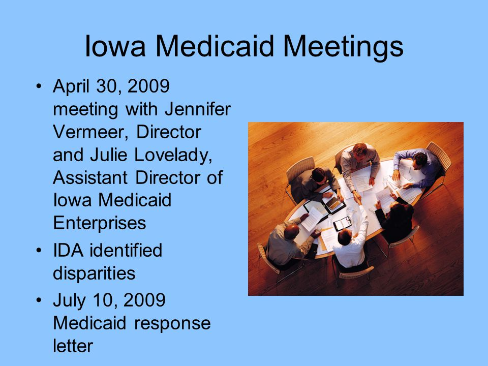 Key Discussion Issues 1.Replace wording: MNT in place of nutrition counseling 2.Representation on an advisory council 3.Increase reimbursement rate ($21.57/unit (MNT- Medicare, $65.97/u PT compared to $8-Medicaid) 4.Change strict NIP criteria REQUIREMENTS TO APPLY FOR NONINPATIENT PROGRAM STATUS IN ORDER TO BE ELIGIBLE TO SUBMIT CHARGES FOR NUTRITION COUNSELING NIP criteria 5.Allow for reimbursement of nutrition counseling provided by dietitians employed by a local public health agency.