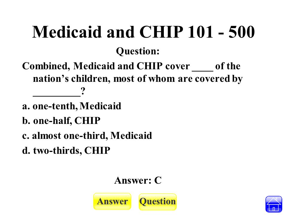 AnswerQuestion Coverage - 100 Question: EPSDT stands for: a.