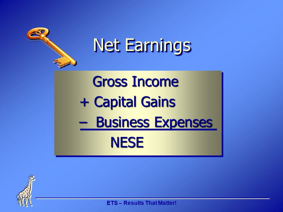 ETS – Results That Matter! Family Medicaid Self Employment Income