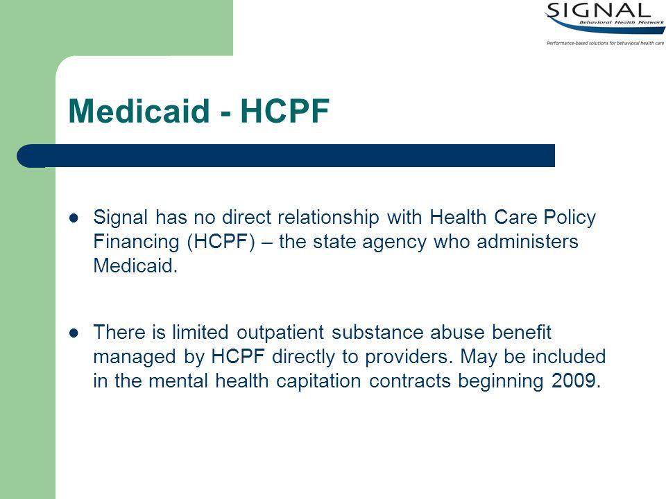 Medicaid - Vivitrol HCPF was invited to an AR MAT team meeting to discuss Medicaid reimbursement of Vivitrol.