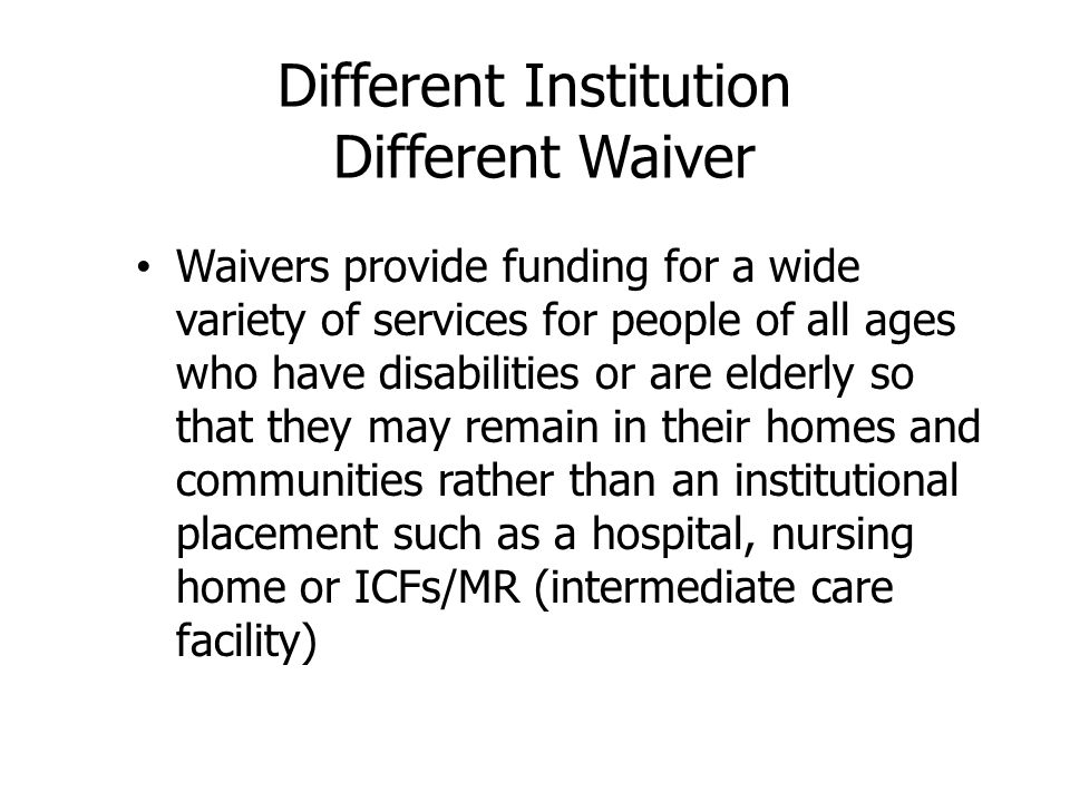Individual is aging out of a publicly funded residential placement or otherwise becoming homeless Individual lives with the primary caregiver and there is a risk to the health or safety of the individual, primary caregiver, or other individual living in the home because: – Individual's behavior presents a risk to himself or others OR physical care or medical needs cannot be managed by the primary caregiver even with generic or specialized support arranged or provided by the CSB
