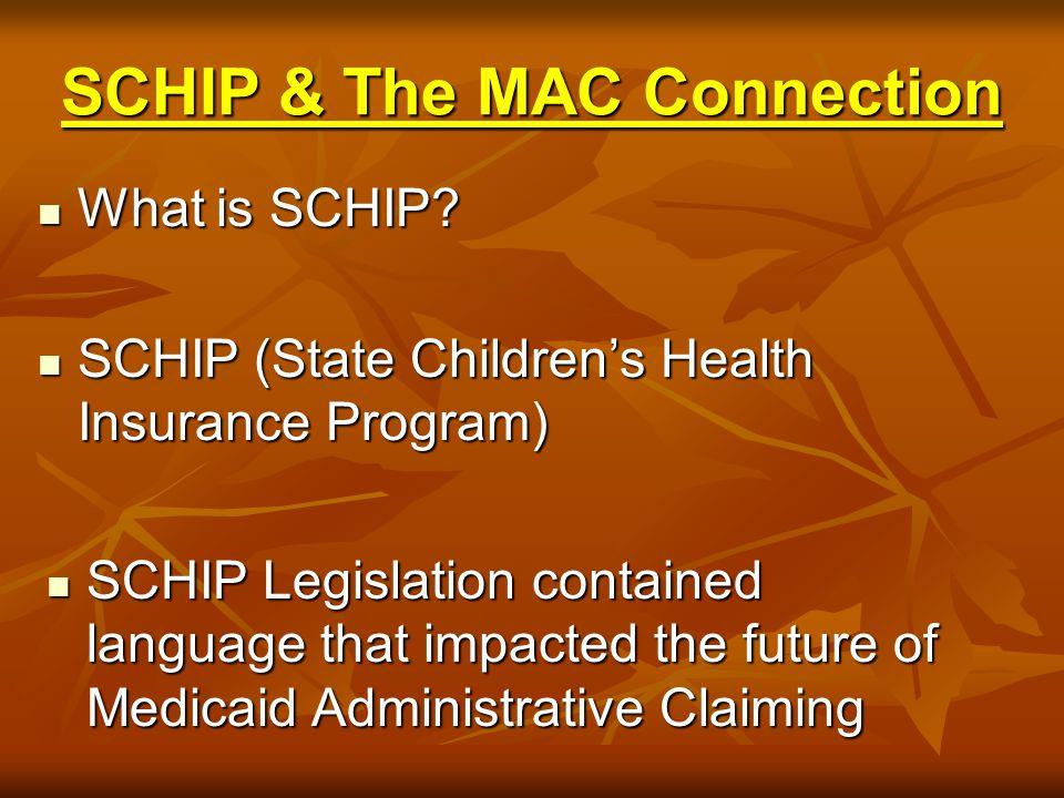 What is SCHIP.What is SCHIP.