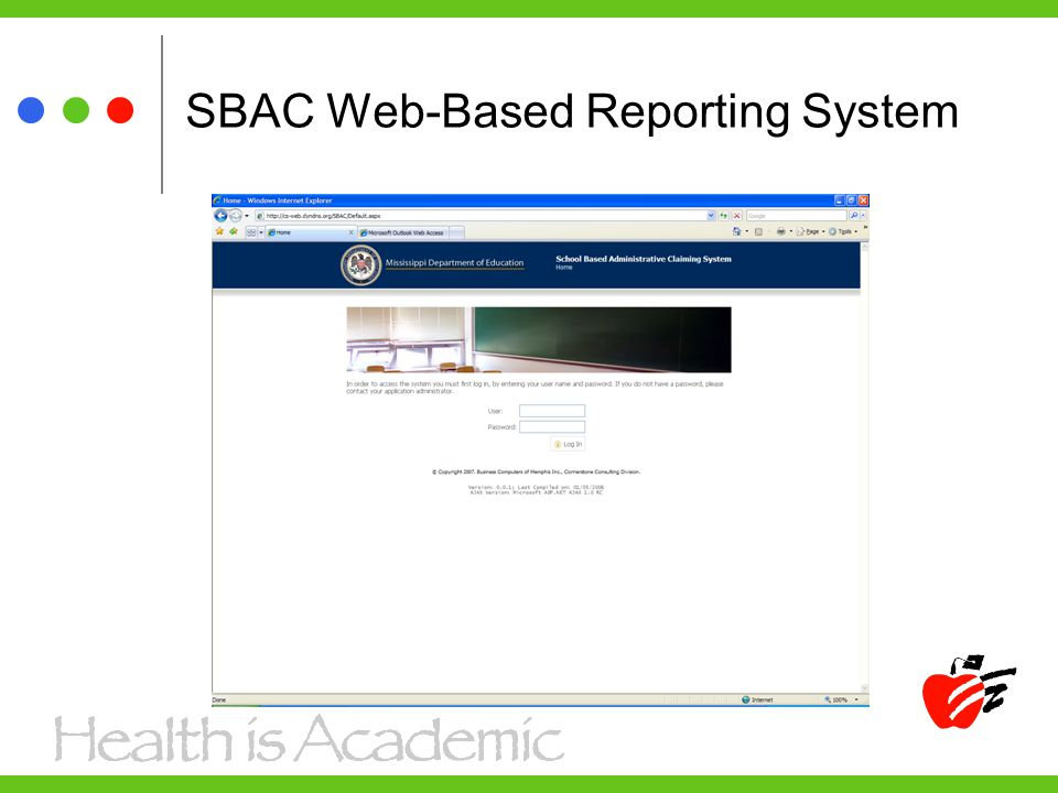 SBAC Web-Based Reporting System