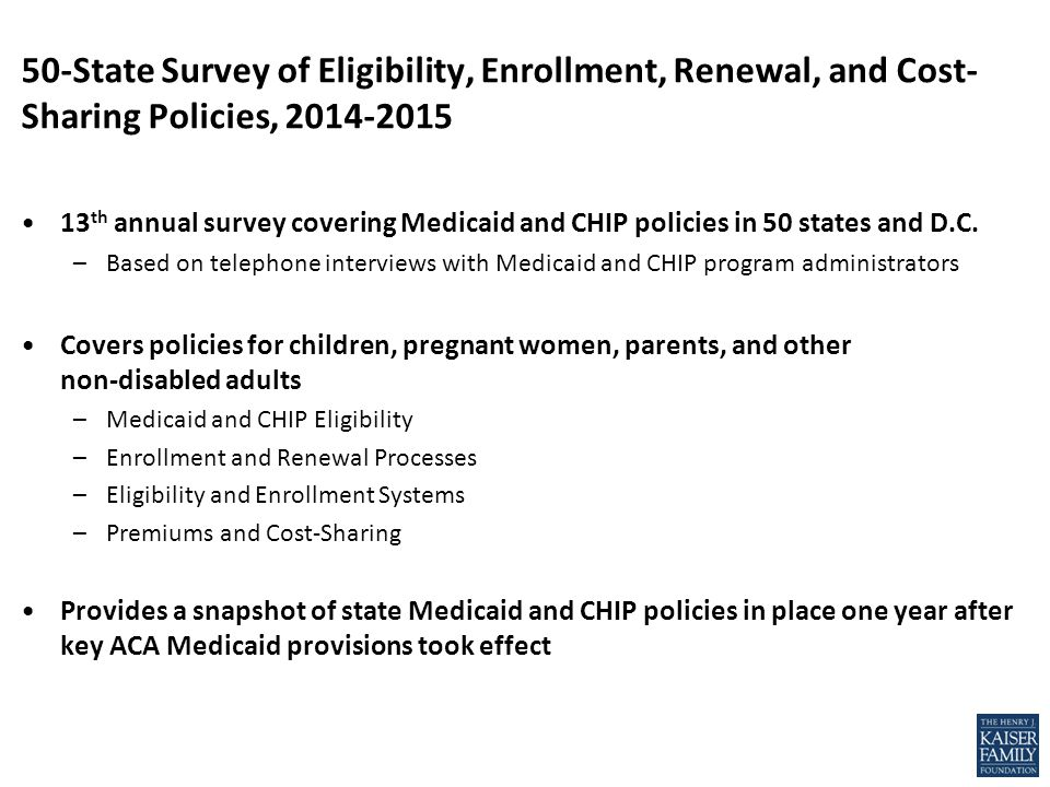 NOTE: Eligibility levels are based on 2014 federal poverty levels (FPLs) for a family of three.