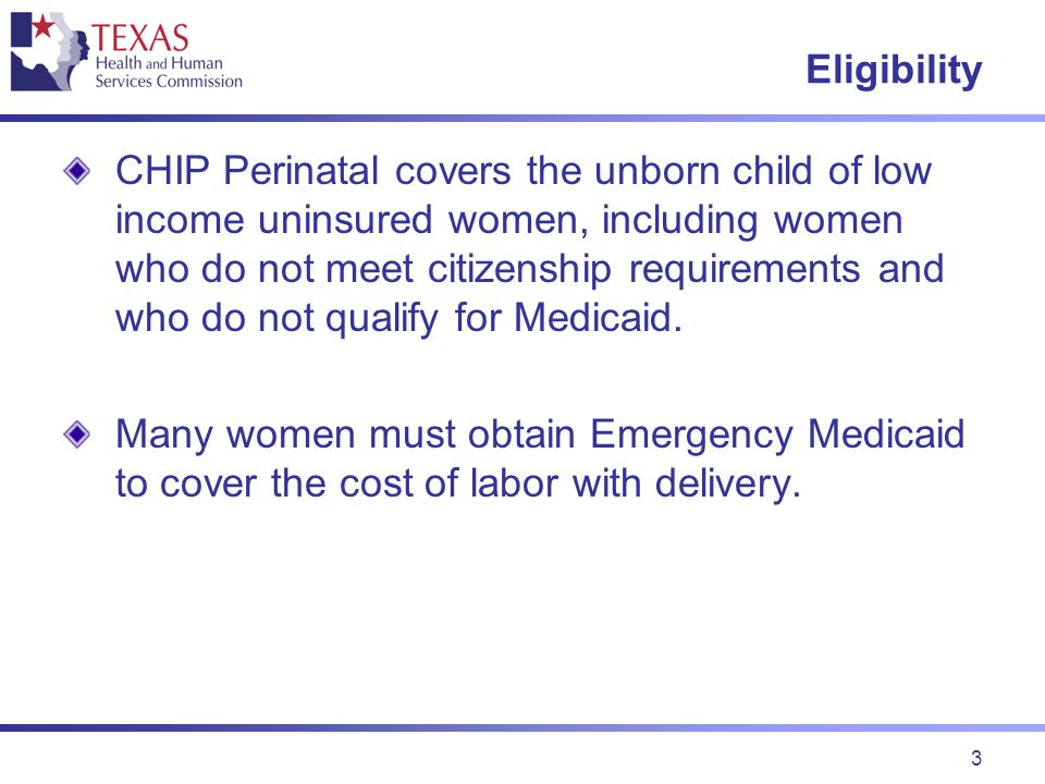 4 Health Plan Pays For Delivery For women with income above 185% and at or below 200% of the federal poverty income limits (FPIL), the CHIP perinatal health plan pays: All hospital facility covered costs, and All covered professional charges.