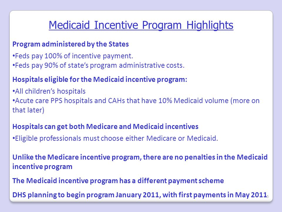 Medicaid Meaningful Use 6 Also, hospitals that meet Medicare meaningful use requirements are DEEMED to meet Medicaid meaningful use requirements, without having to meet additional criteria imposed by the states.