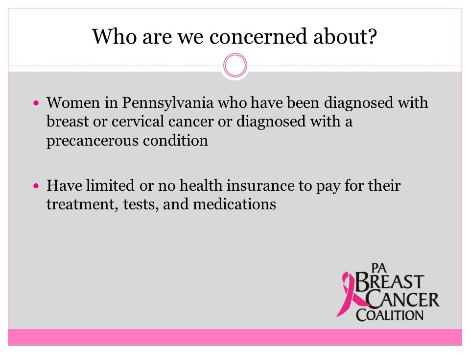 Final Points A woman's BCCPT benefits end when she:  Reaches age 65 years  Has creditable coverage  No longer needs breast or cervical cancer treatment  Does not comply with annual renewal requirements
