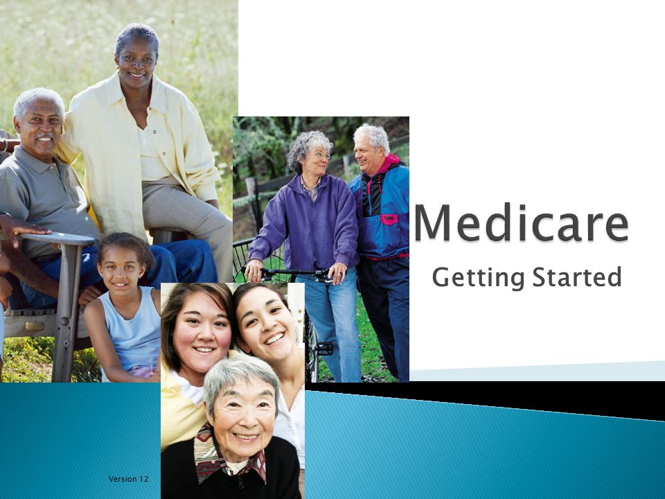 05/25/2012Getting Started12 Note: Premiums are usually deducted from your Social Security benefit payment.