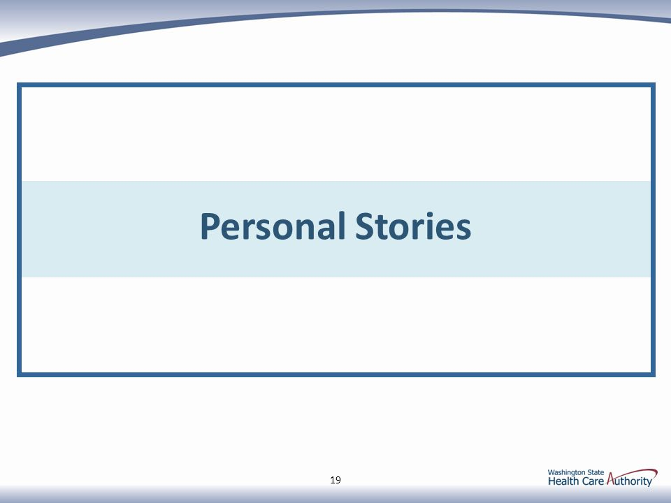 Personal Stories 19