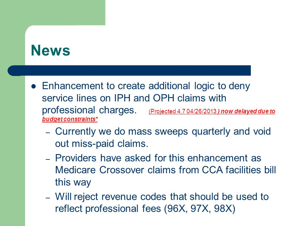 MSA 12-51 Medicaid Liability- issued 11/01/2012 Bulletin clarifies existing policy regarding Medicaid Liability when patient has other coverage(s) through commercial or Medicare.