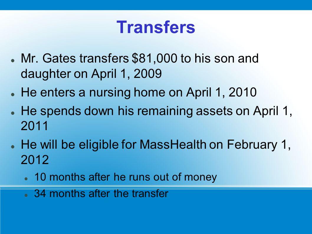 Transfers Mr.