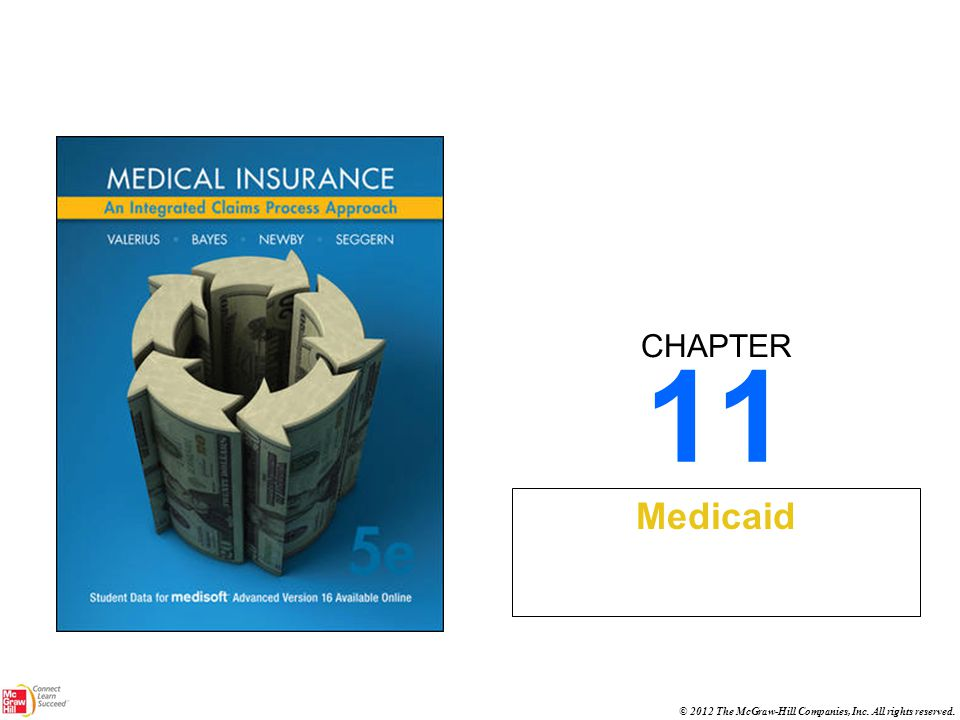 CHAPTER © 2012 The McGraw-Hill Companies, Inc. All rights reserved. 11 Medicaid
