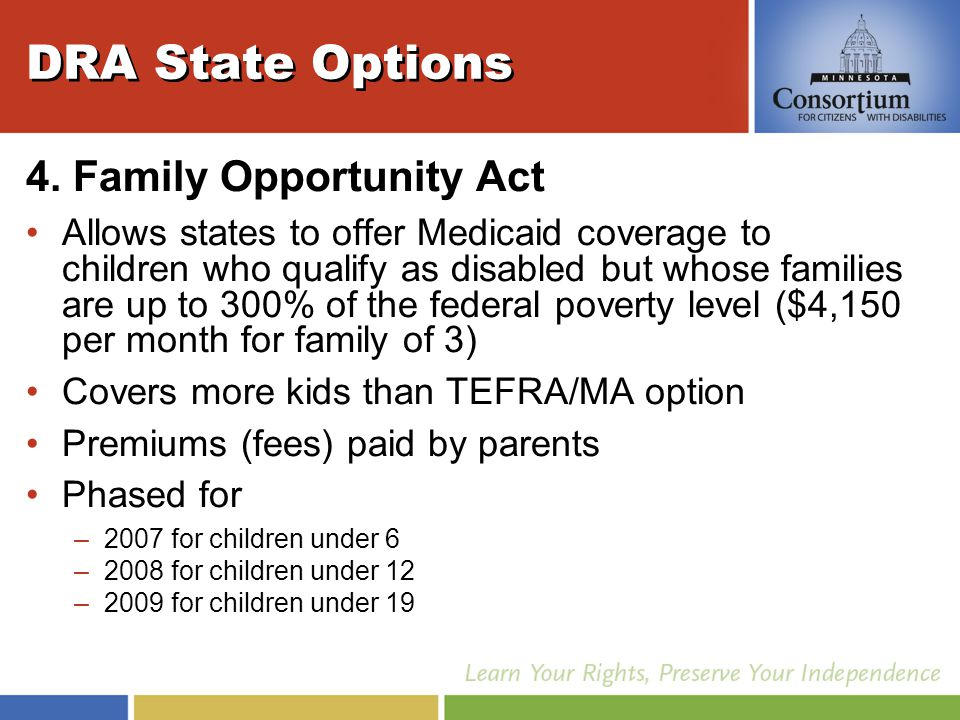DRA State Options 4.